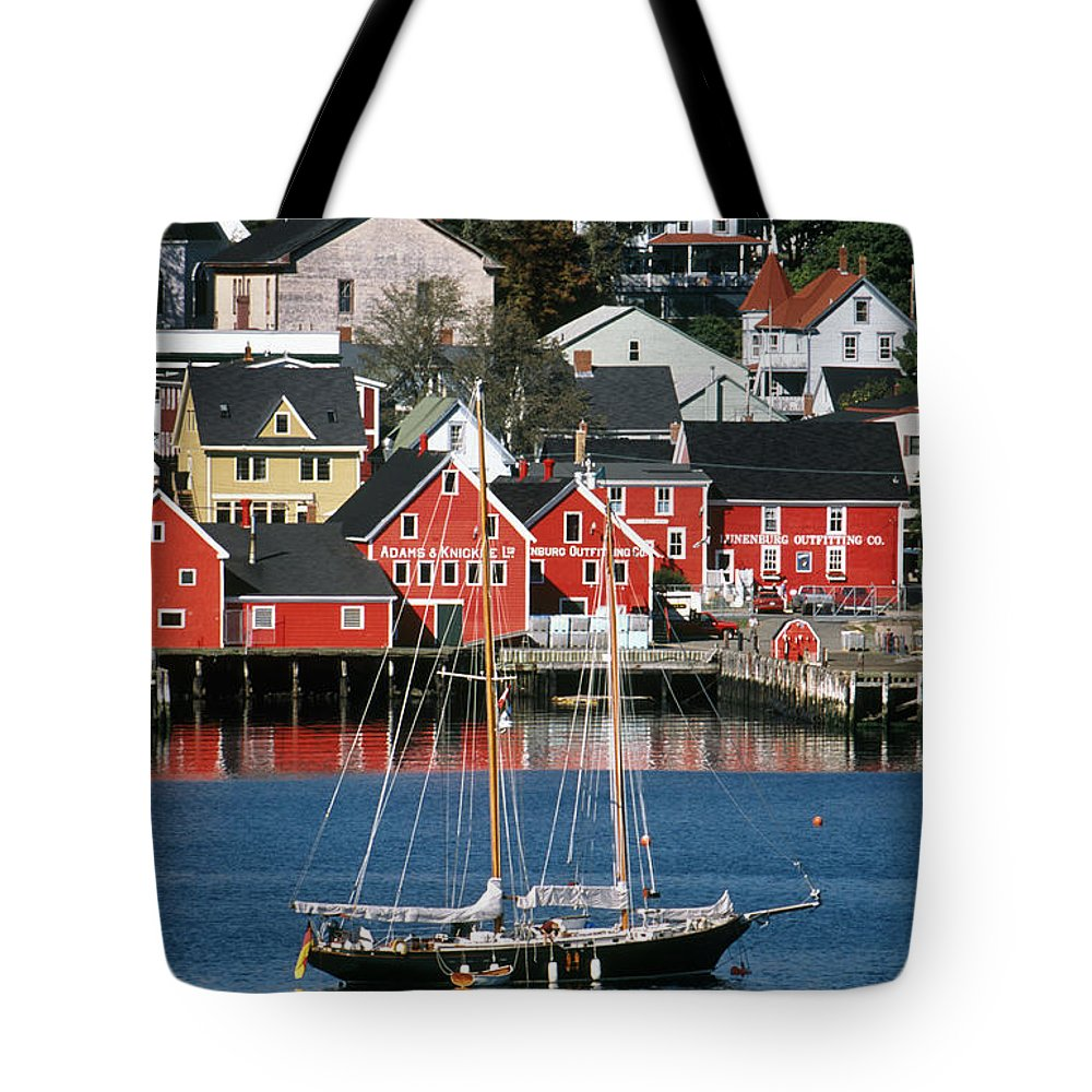 Light Tote Bag featuring the photograph World Hertitage Designated Town On by Ken Straiton