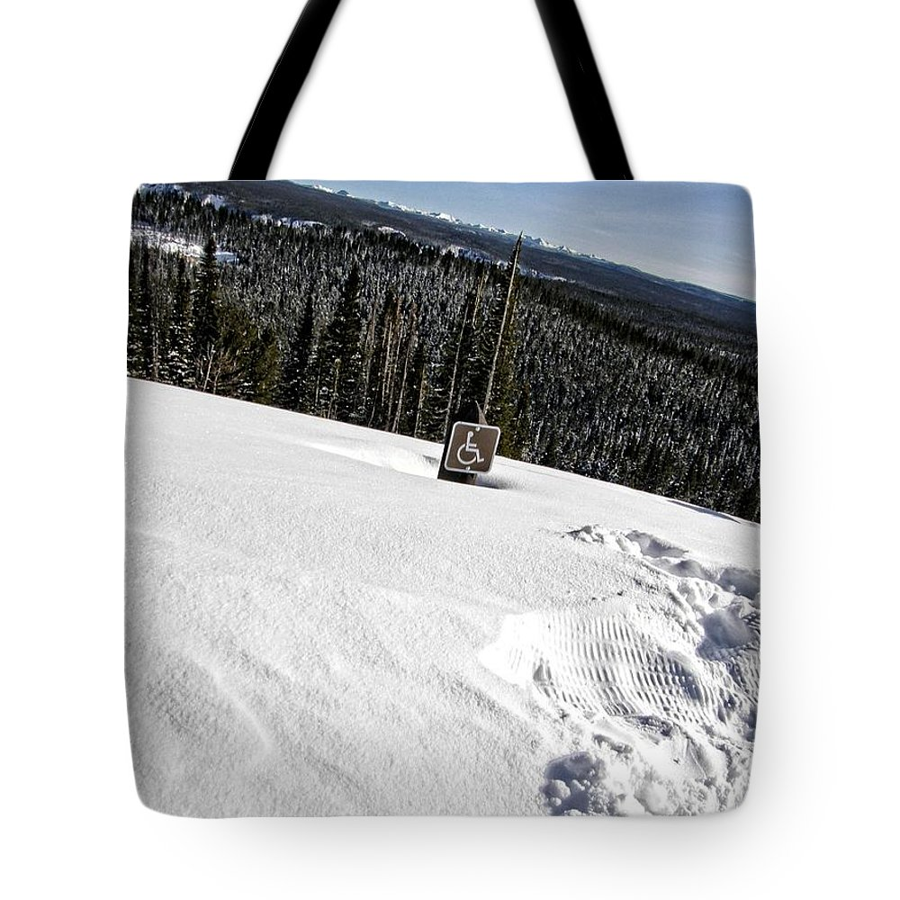 Yellowstone Tote Bag featuring the photograph Yellowstone by Image Takers Photography LLC