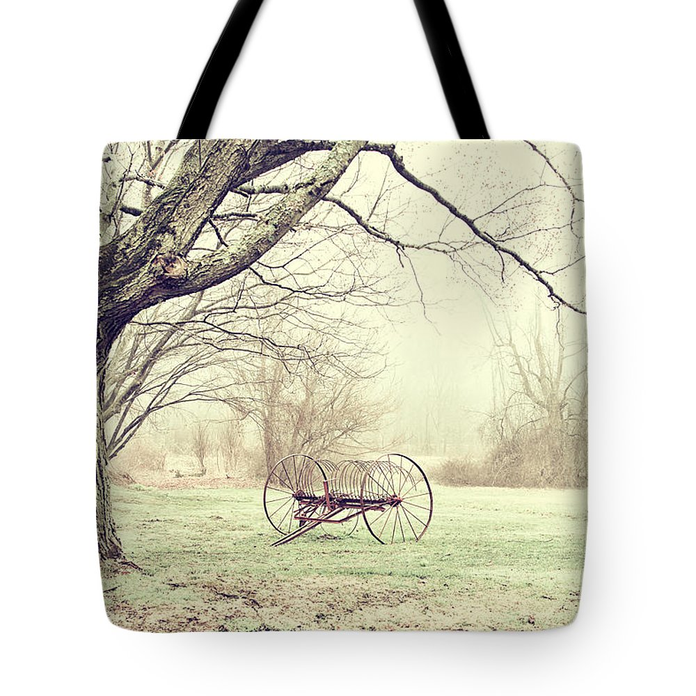 Country Tote Bag featuring the photograph Yesterday by Karol Livote