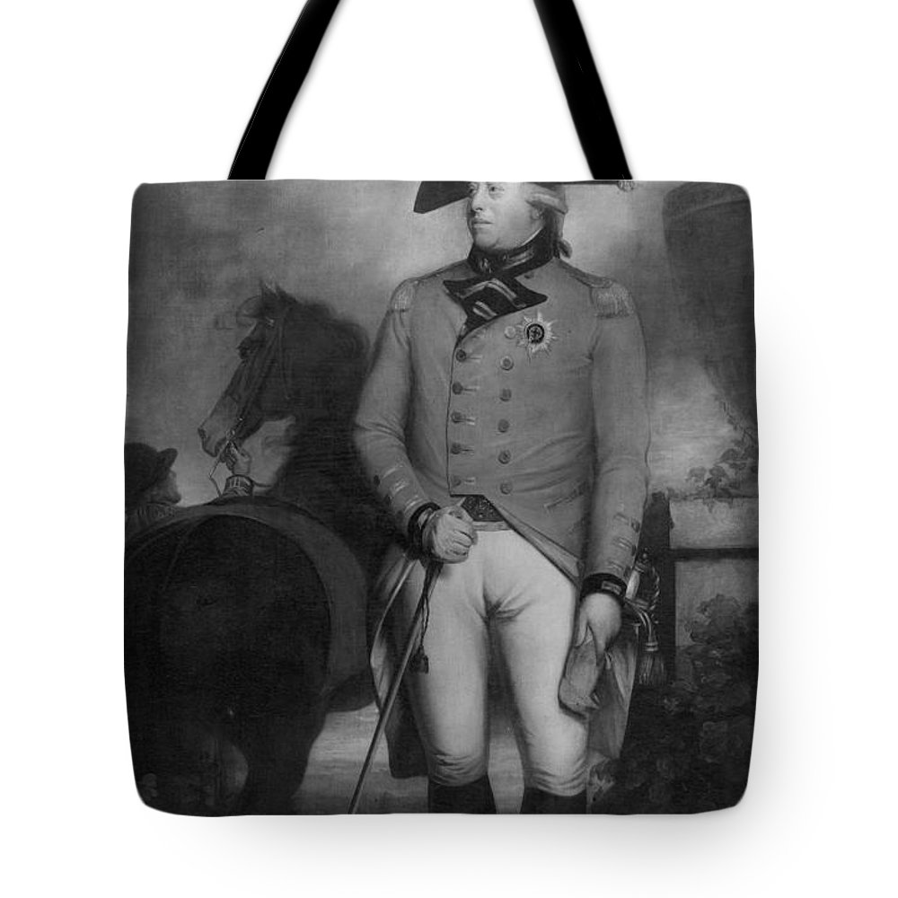 18th Century Tote Bag featuring the photograph George IIi (1738-1820) by Granger