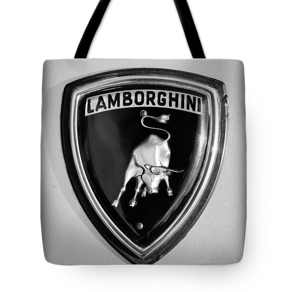 Lamborghini Emblem Tote Bag For Sale By Jill Reger