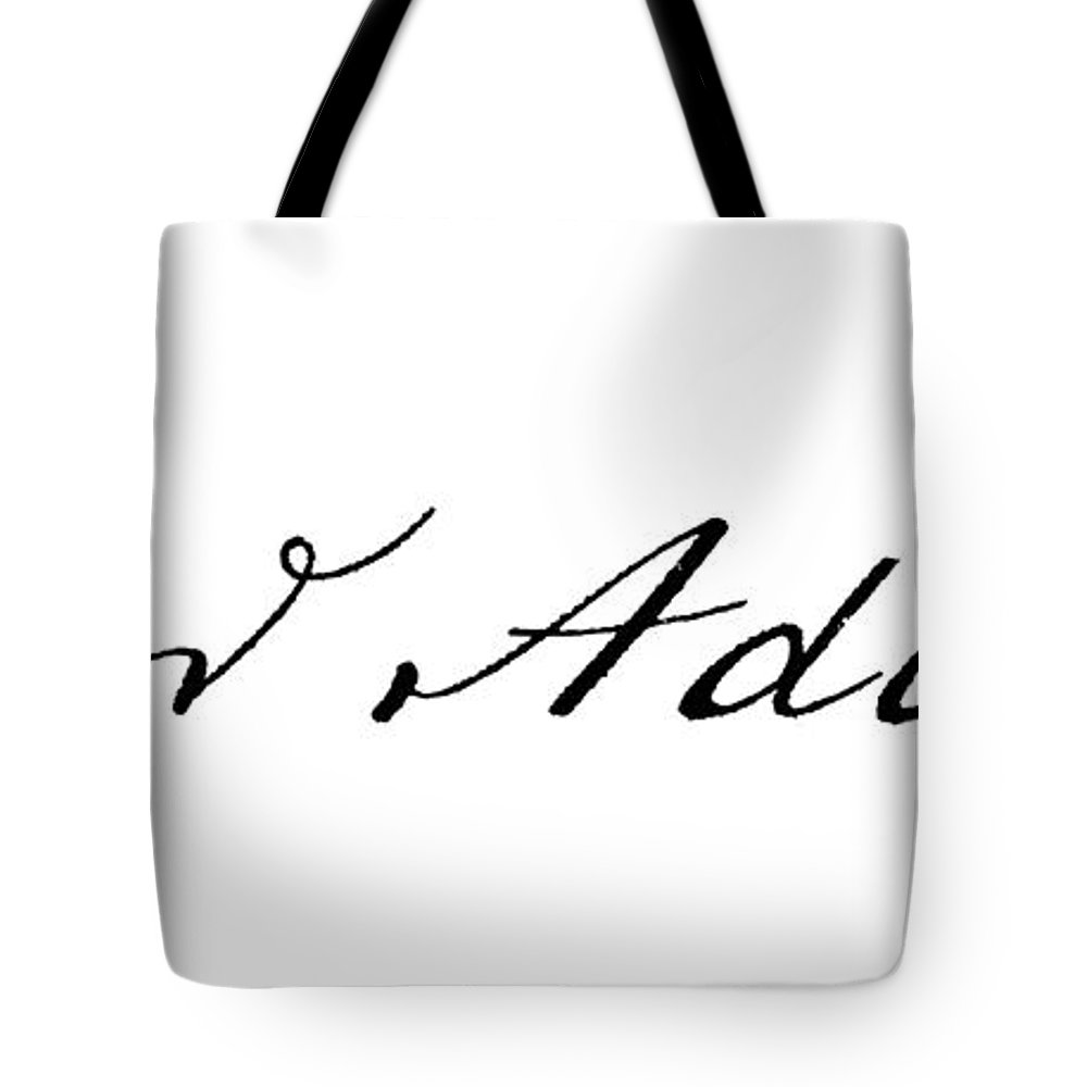 18th Century Tote Bag featuring the photograph Samuel Adams (1722-1803) by Granger