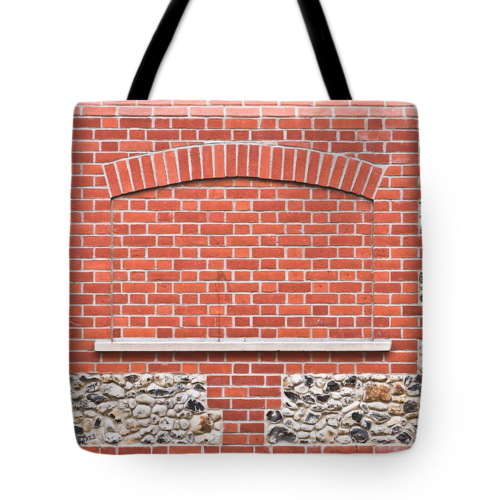 Alcove Tote Bag featuring the photograph Stone Wall by Tom Gowanlock