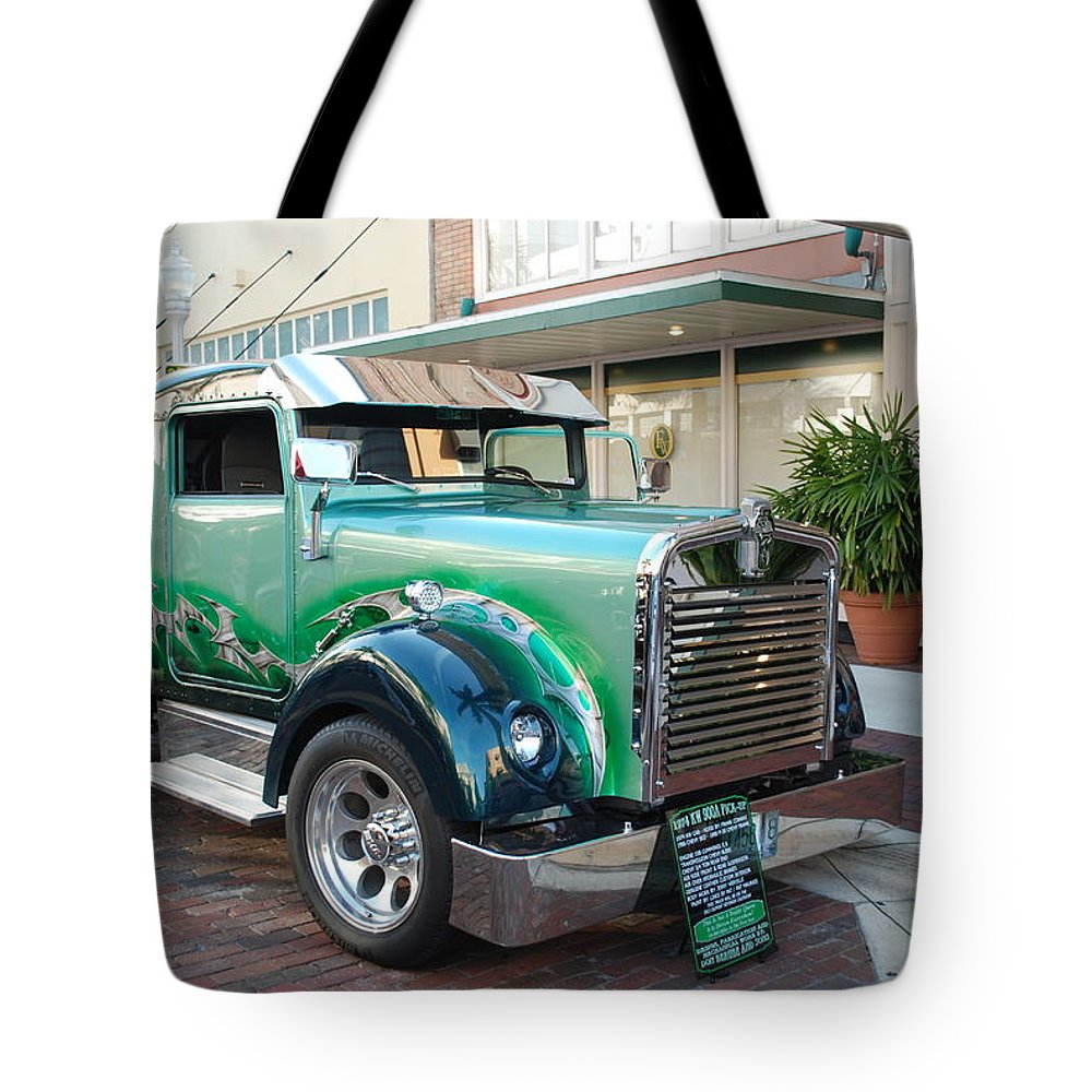 Downtown Ft.myers Tote Bag featuring the photograph Custom Truck by Robert Floyd
