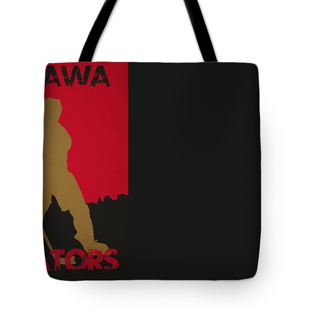 Senators Tote Bag featuring the photograph Ottawa Senators by Joe Hamilton