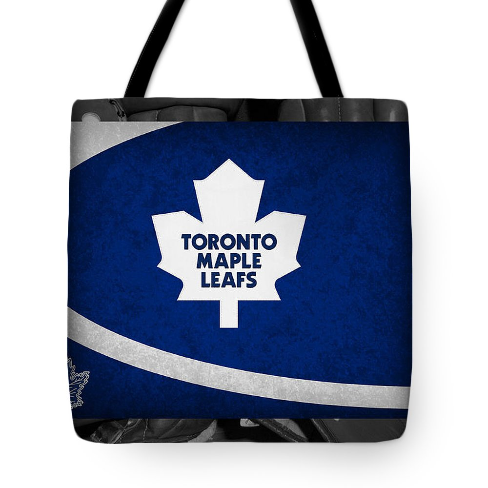 Maple Leafs Tote Bag featuring the photograph Toronto Maple Leafs by Joe Hamilton