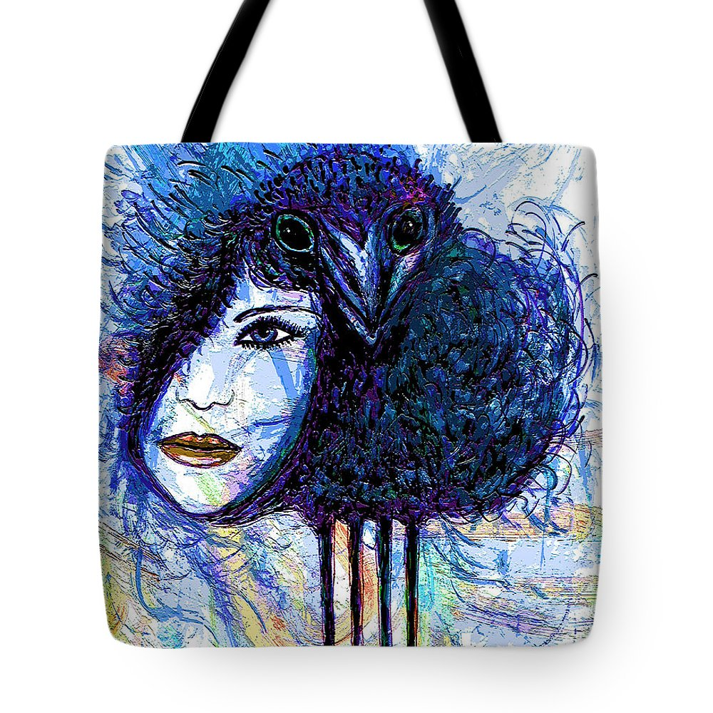 Vintage Hair Comb Tote Bag featuring the mixed media Vintage Hair Comb by Natalie Holland