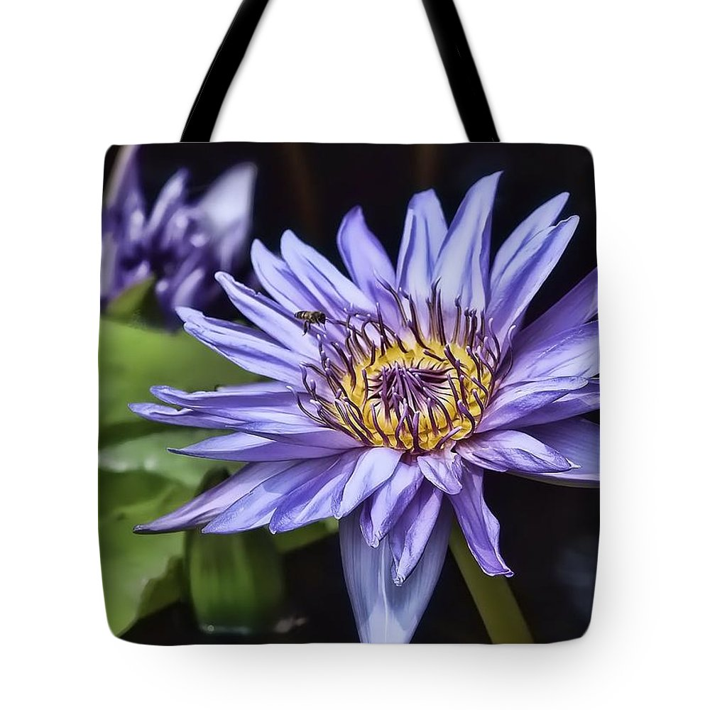 Water Lily Tote Bag featuring the photograph Water Lily by Joyce Baldassarre