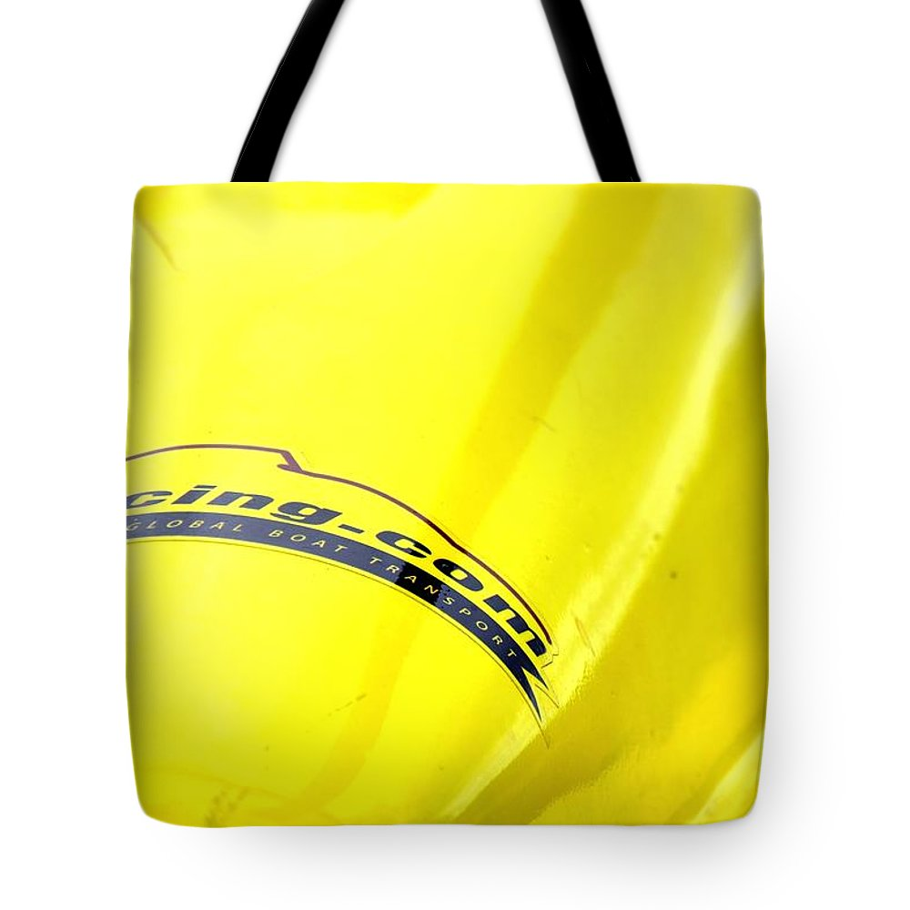 Rogers Tote Bag featuring the photograph 11racing 24322 by Jerry Sodorff