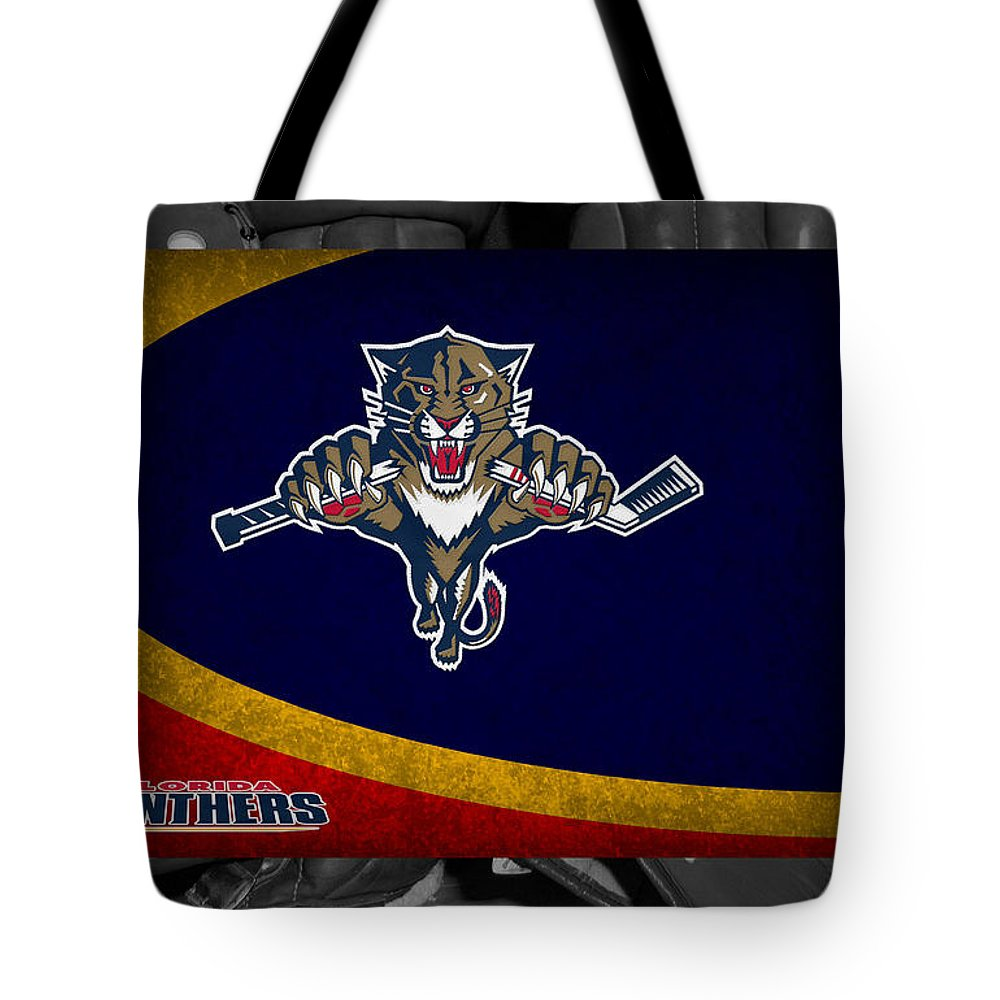 Panthers Tote Bag featuring the photograph Florida Panthers by Joe Hamilton