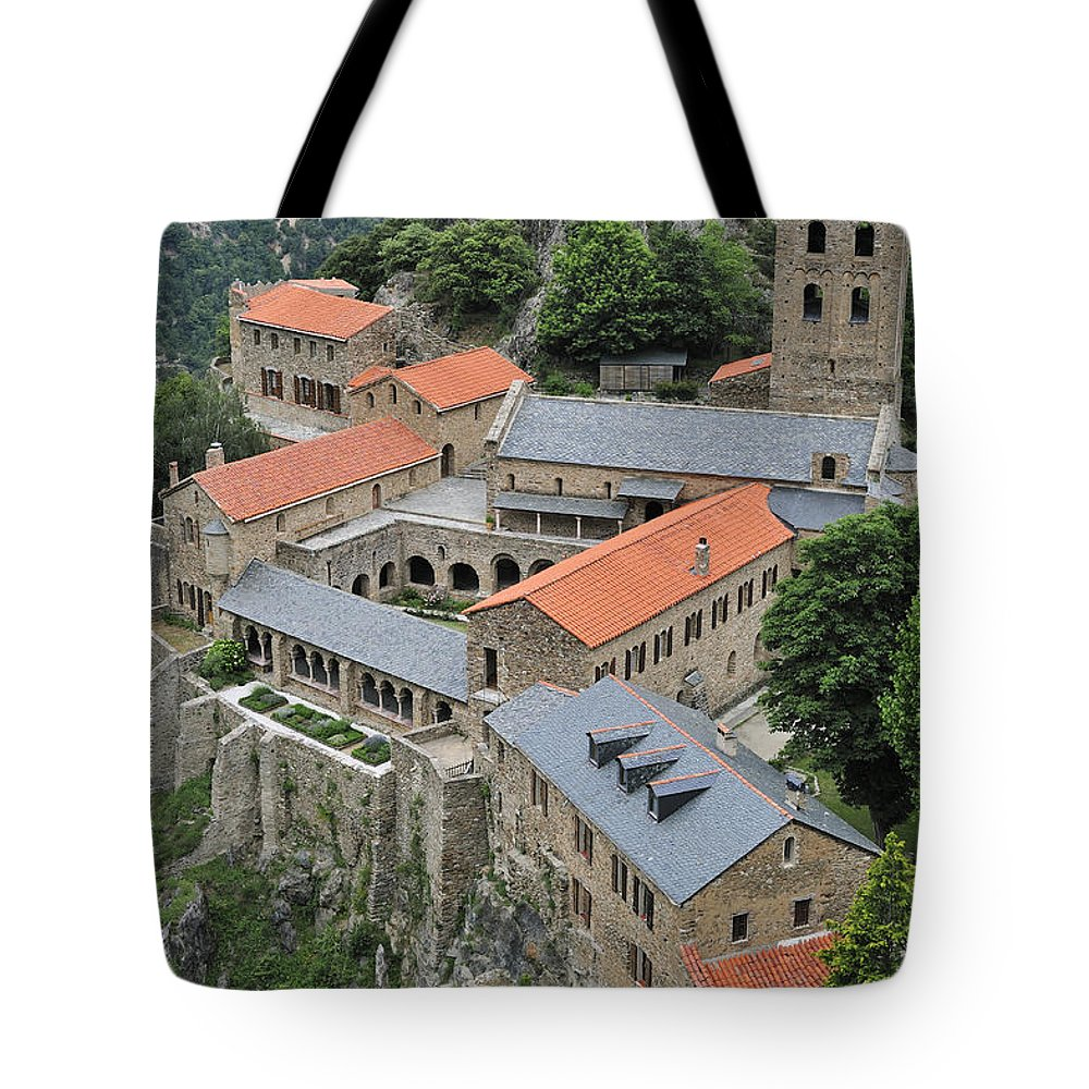Martin-du-canigou Tote Bag featuring the photograph 120520p133 by Arterra Picture Library