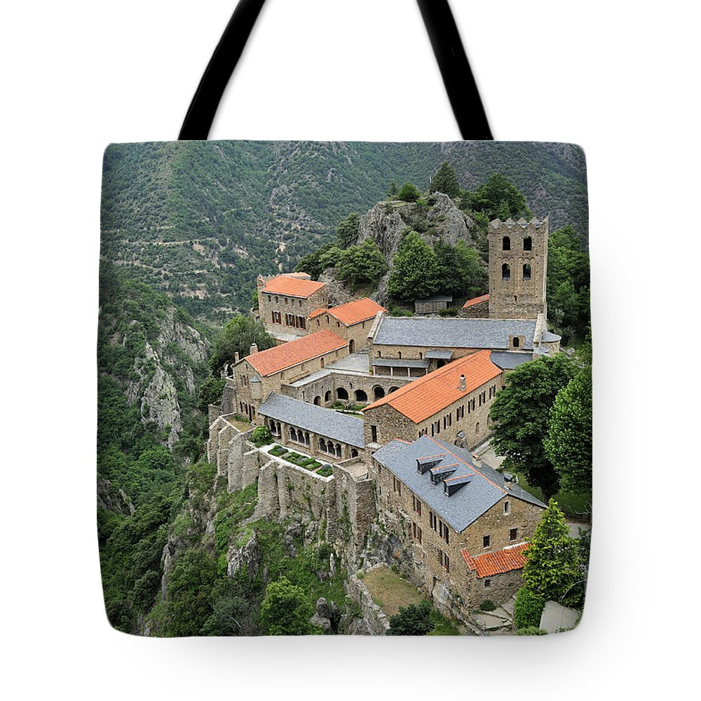 Martin-du-canigou Tote Bag featuring the photograph 120520p134 by Arterra Picture Library