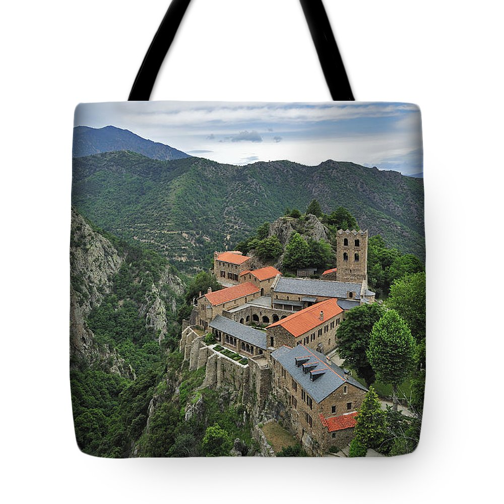 Martin-du-canigou Tote Bag featuring the photograph 120520p137 by Arterra Picture Library