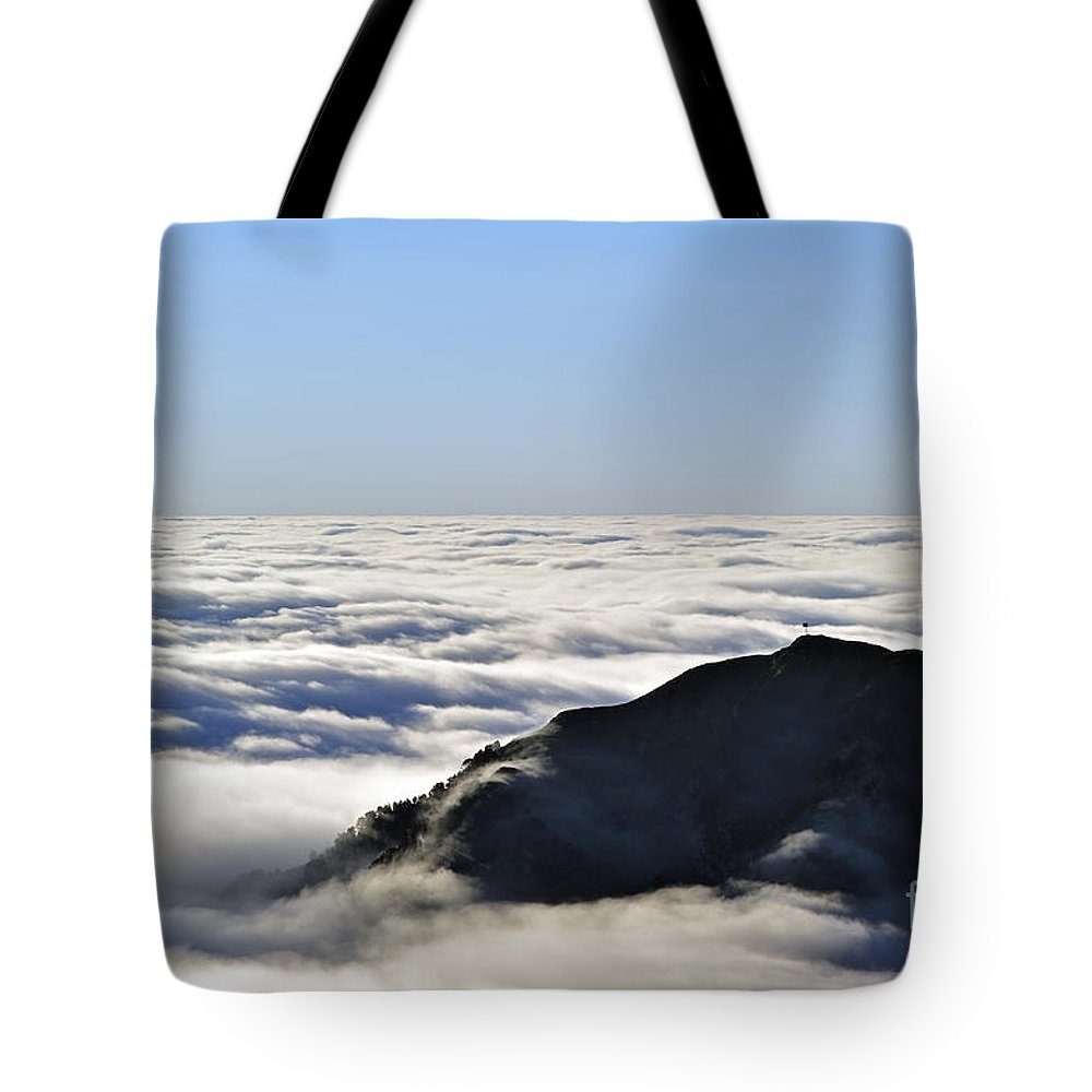Col Du Tourmalet Tote Bag featuring the photograph 120520p204 by Arterra Picture Library