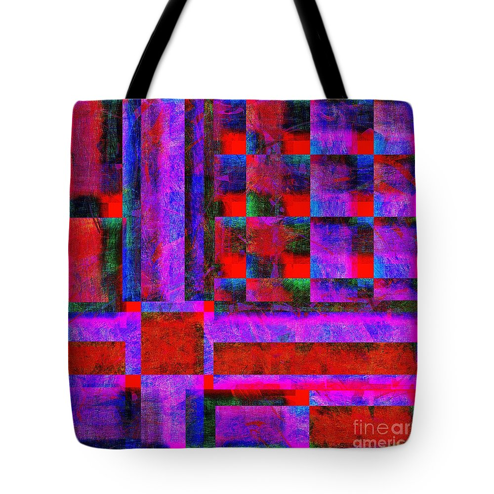 Abstract Tote Bag featuring the digital art 1227 Abstract Thought by Chowdary V Arikatla