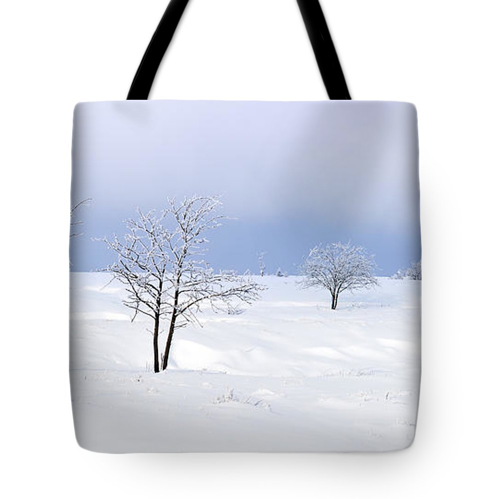 High Fens Tote Bag featuring the photograph 130201p322 by Arterra Picture Library