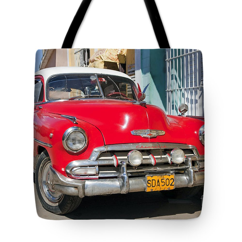 Red Tote Bag featuring the photograph 130215p067 by Arterra Picture Library