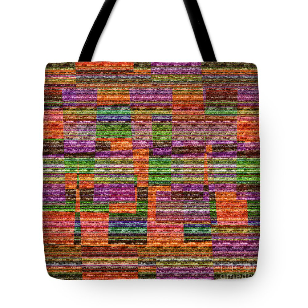 Abstract Tote Bag featuring the digital art 1365 Abstract Thought by Chowdary V Arikatla