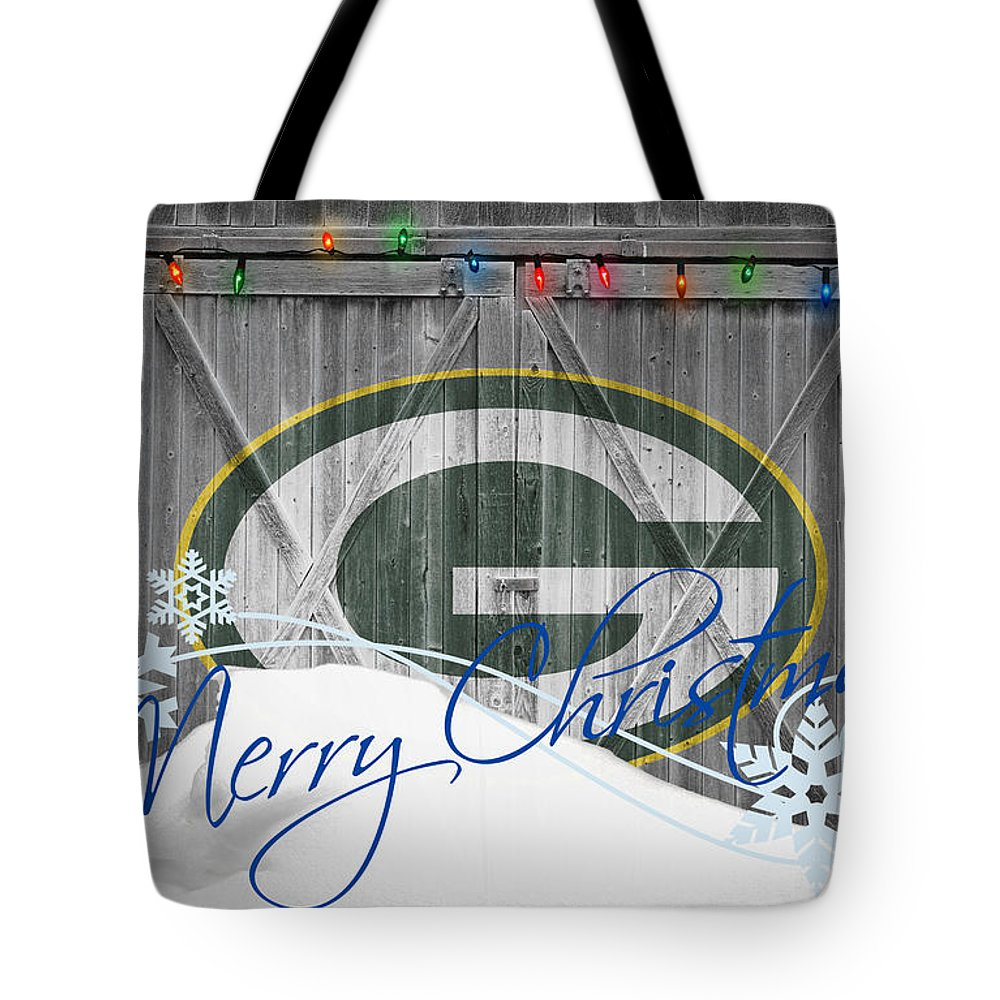 Packers Tote Bag featuring the photograph Green Bay Packers by Joe Hamilton