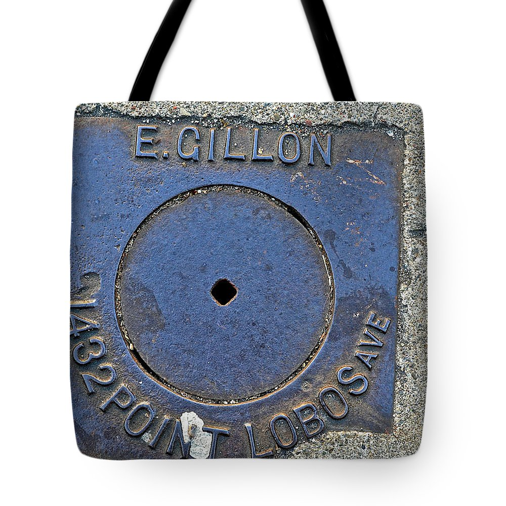 1432 Point Lobos Ave. Tote Bag featuring the photograph 1432 Point Lobos Ave. - San Fran by Bill Owen