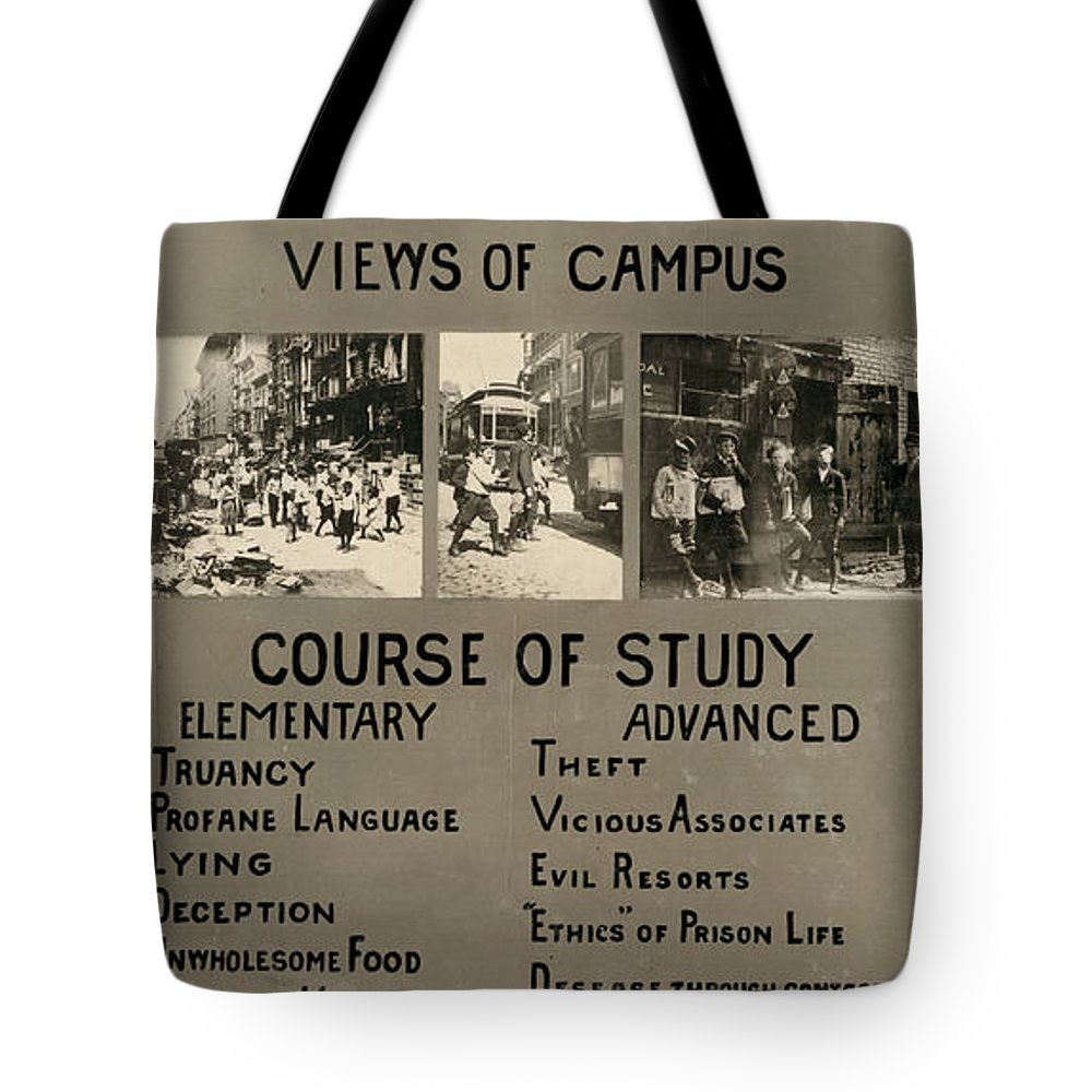 1913 Tote Bag featuring the photograph Anti-child Labor Poster by Granger