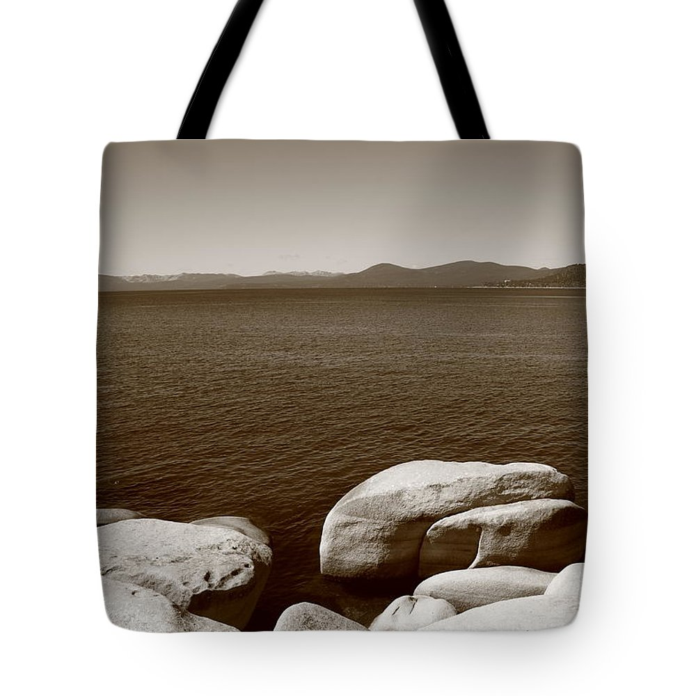 America Tote Bag featuring the photograph Lake Tahoe by Frank Romeo