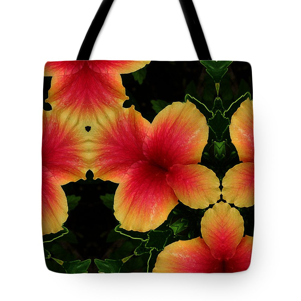 Flower Tote Bag featuring the photograph 1748 by John Holfinger
