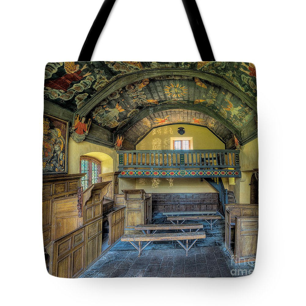 Chapel Tote Bag featuring the photograph 17th Century Chapel by Adrian Evans