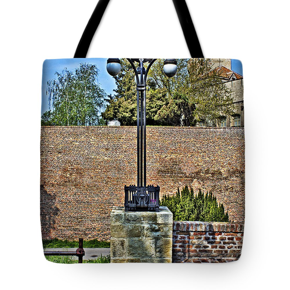 Architecture Tote Bag featuring the photograph Fortress Kalemegdan Belgrade by Milan Karadzic