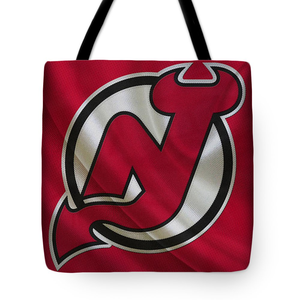 Devils Tote Bag featuring the photograph New Jersey Devils by Joe Hamilton