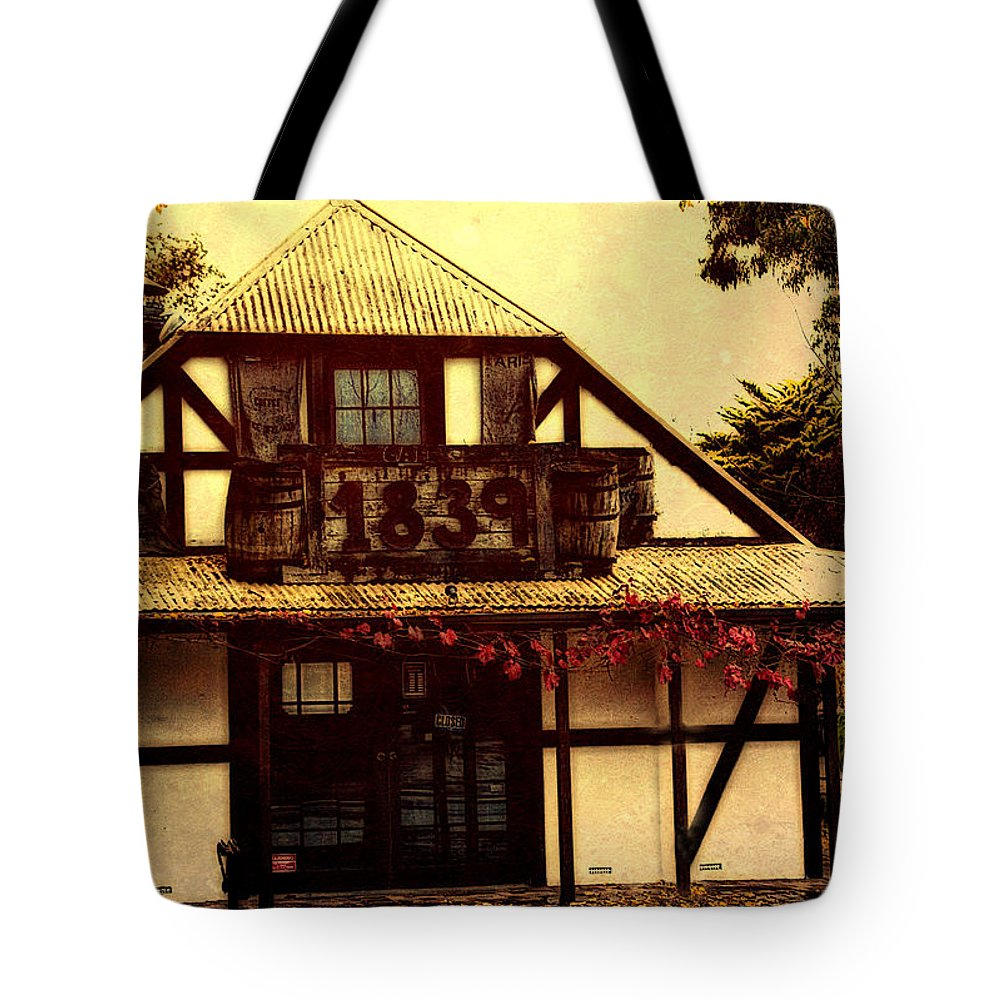 1839 Tote Bag featuring the photograph 1839 by Douglas Barnard