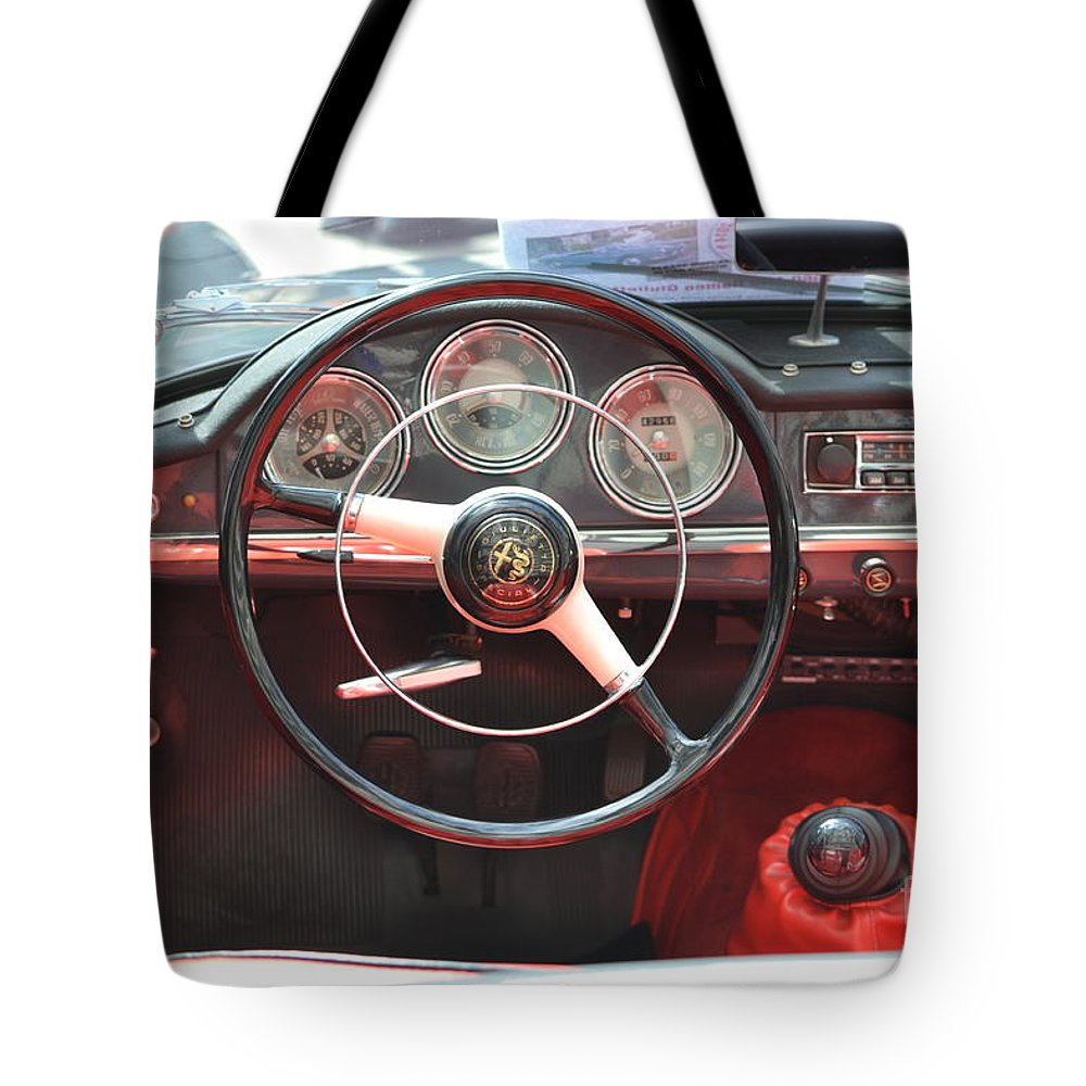 California Mille Tote Bag featuring the photograph California Mille by Dean Ferreira