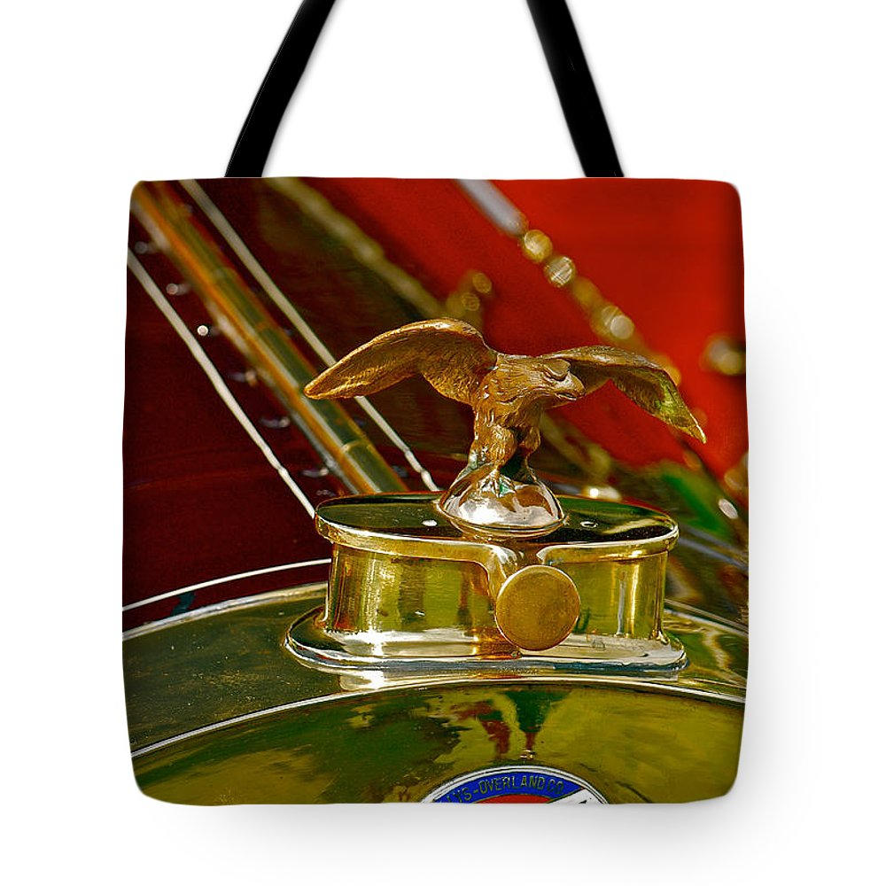 Car Tote Bag featuring the photograph 1912 Overland by Douglas Perry