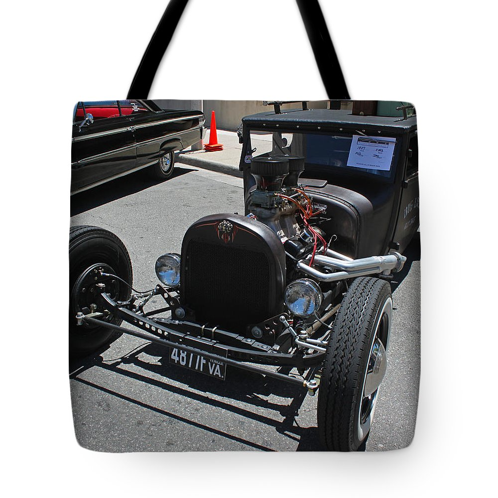 Photograph Tote Bag featuring the photograph 1927 Ford Hot Rod by Suzanne Gaff