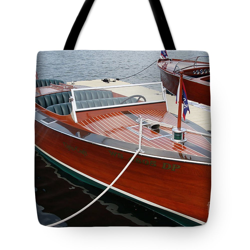 Powerboat Photographs Tote Bags