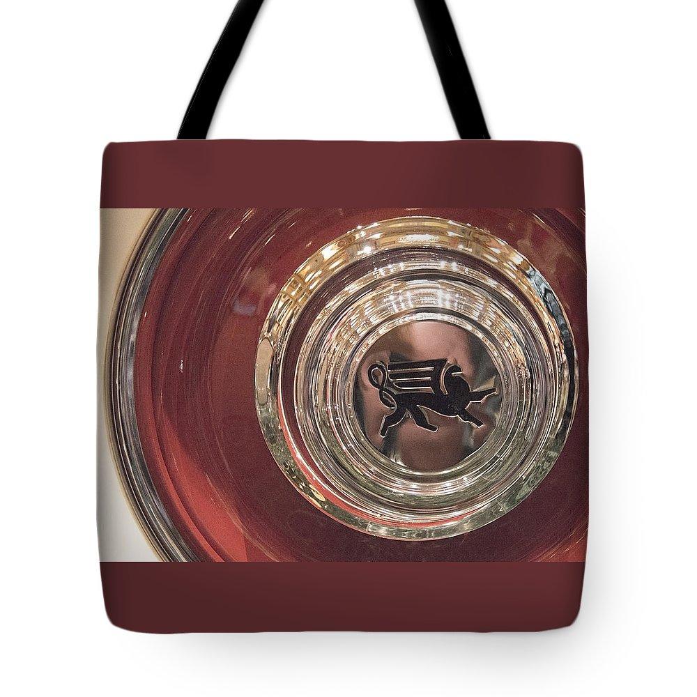 Classic Car Tote Bag featuring the photograph 1930 Ruxton Wheel by Ben and Raisa Gertsberg