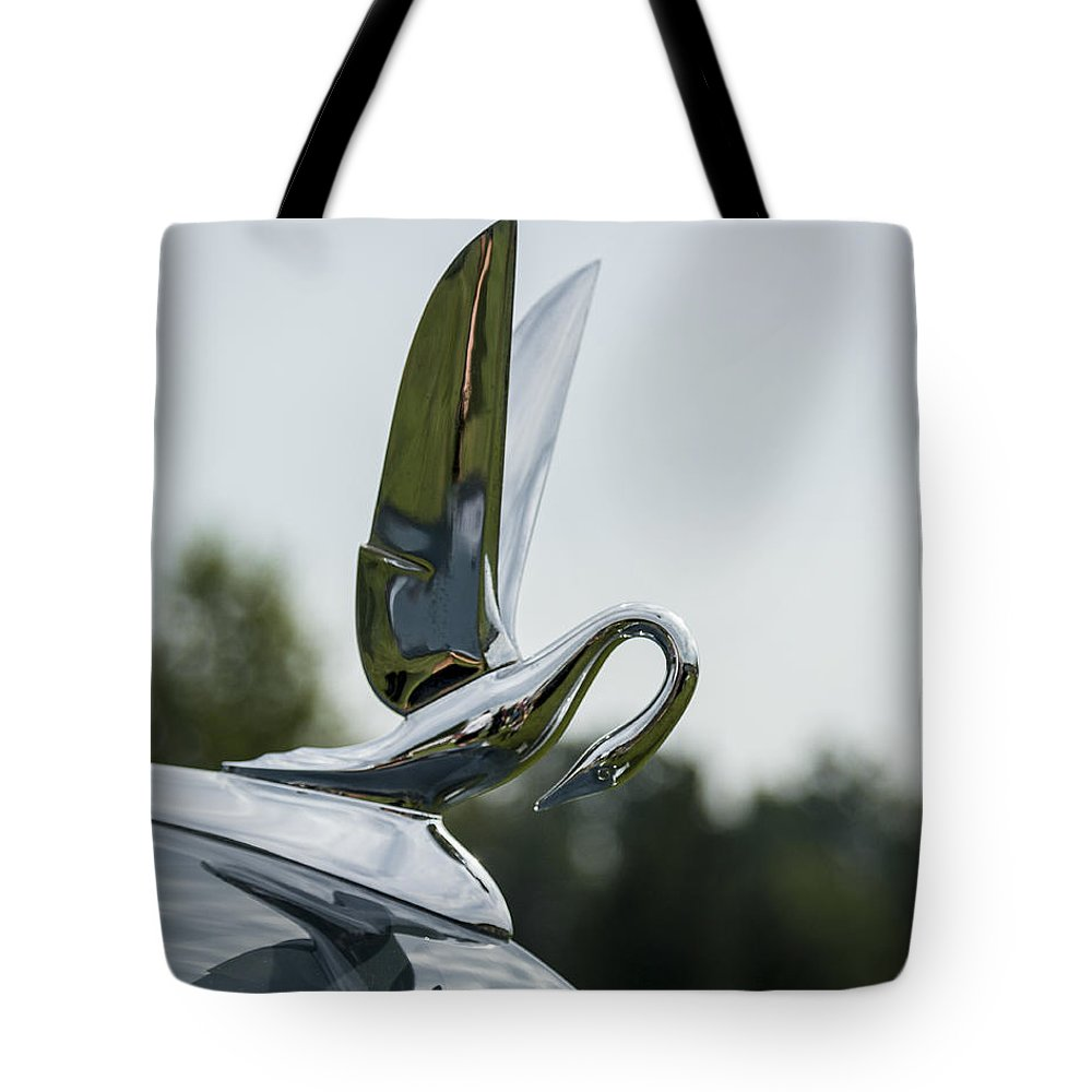 Glenmoor Tote Bag featuring the photograph 1930s Packard by Jack R Perry