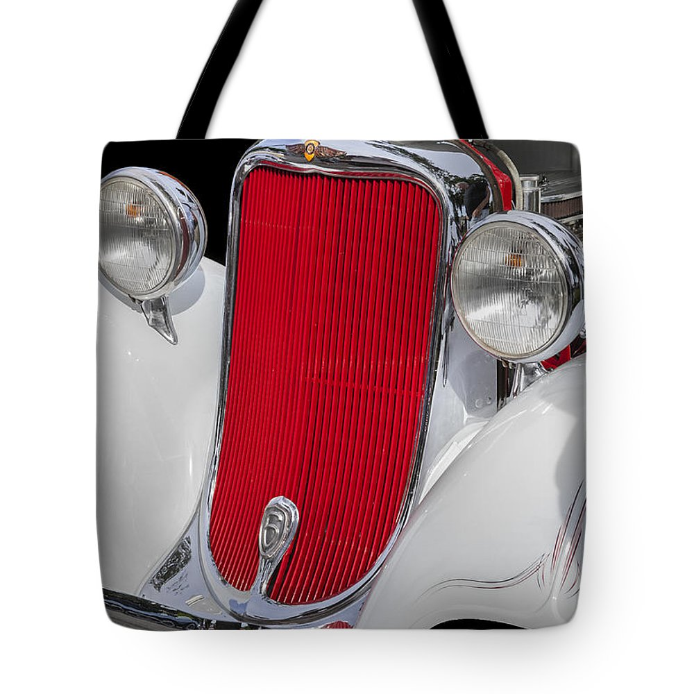 Dodge Tote Bag featuring the photograph 1933 Dodge Sedan by Rich Franco