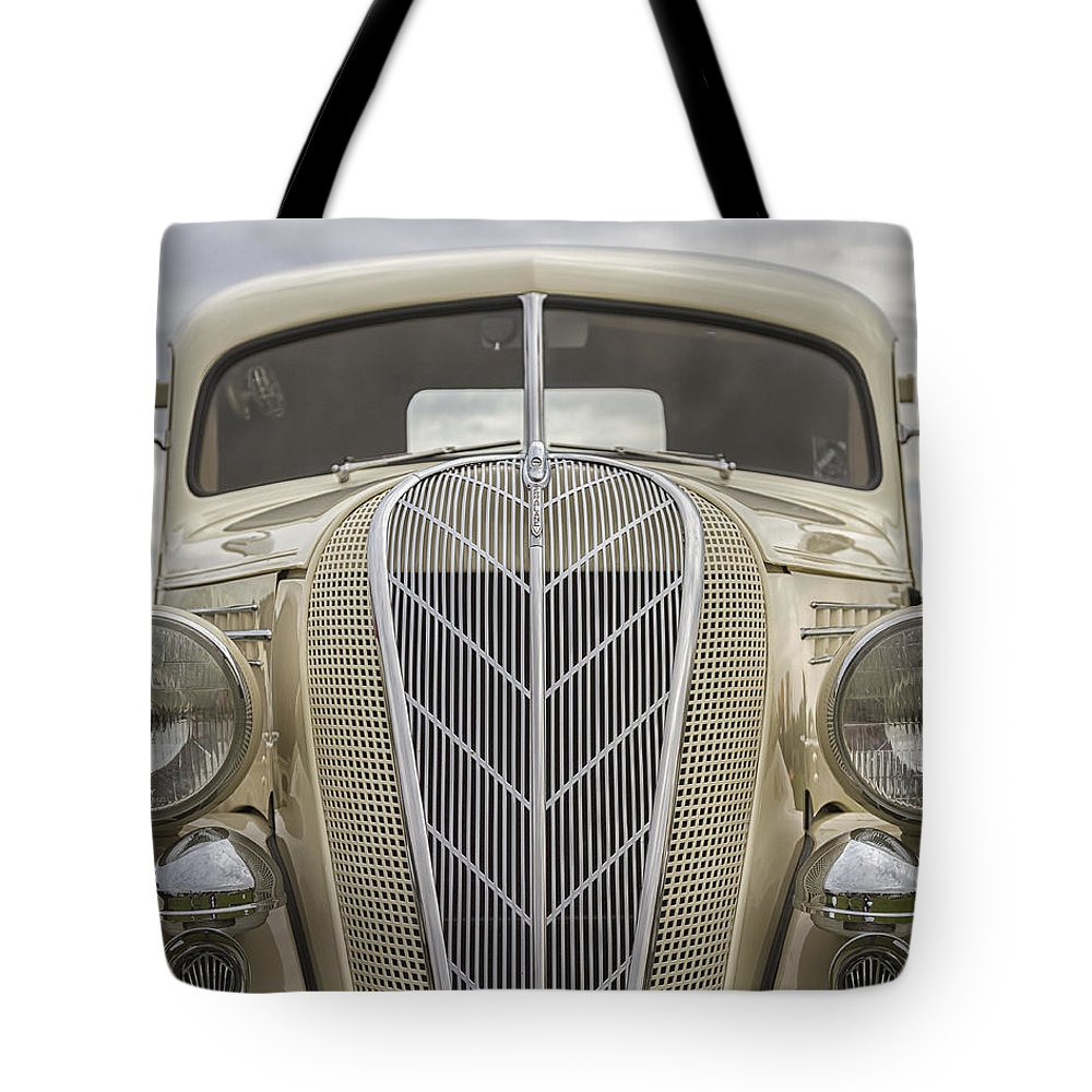 Antique Tote Bag featuring the photograph 1936 Hudson Terraplane Truck by Jack R Perry
