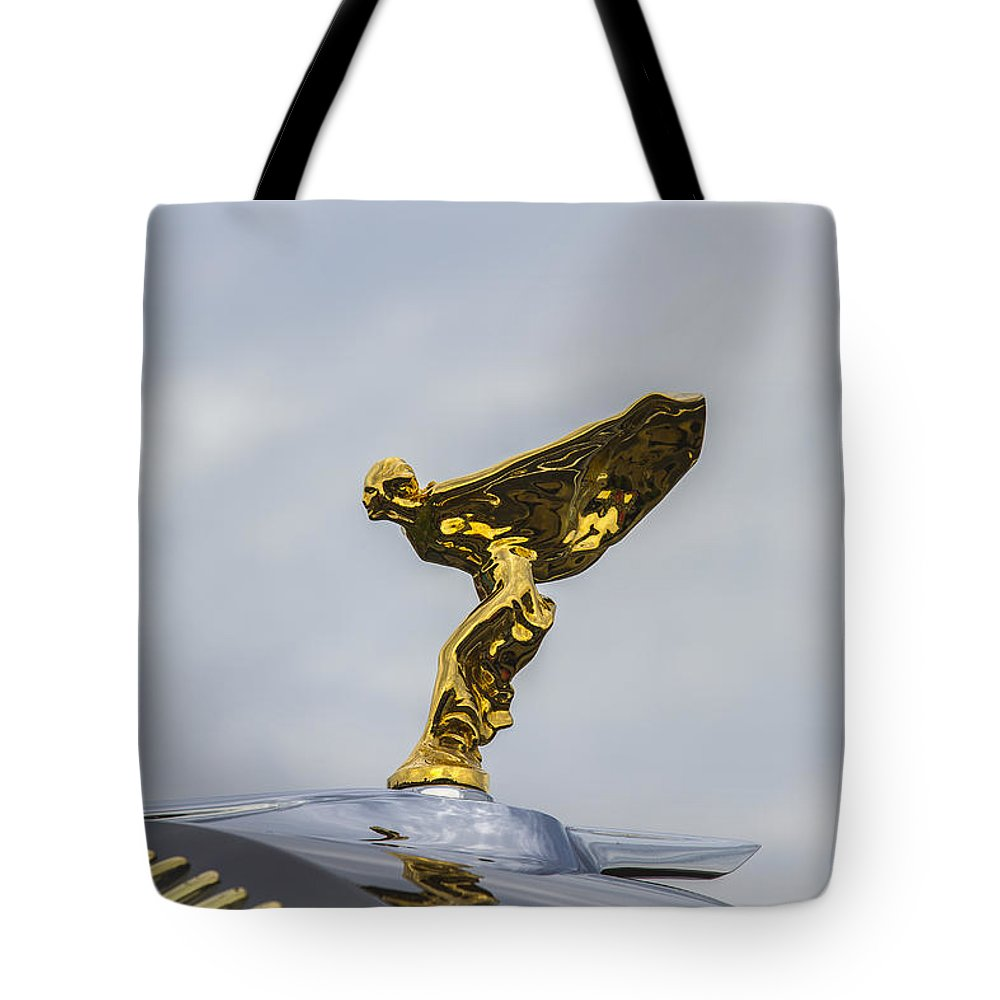 Glenmoor Tote Bag featuring the photograph 1937 47 Rolls Royce by Jack R Perry