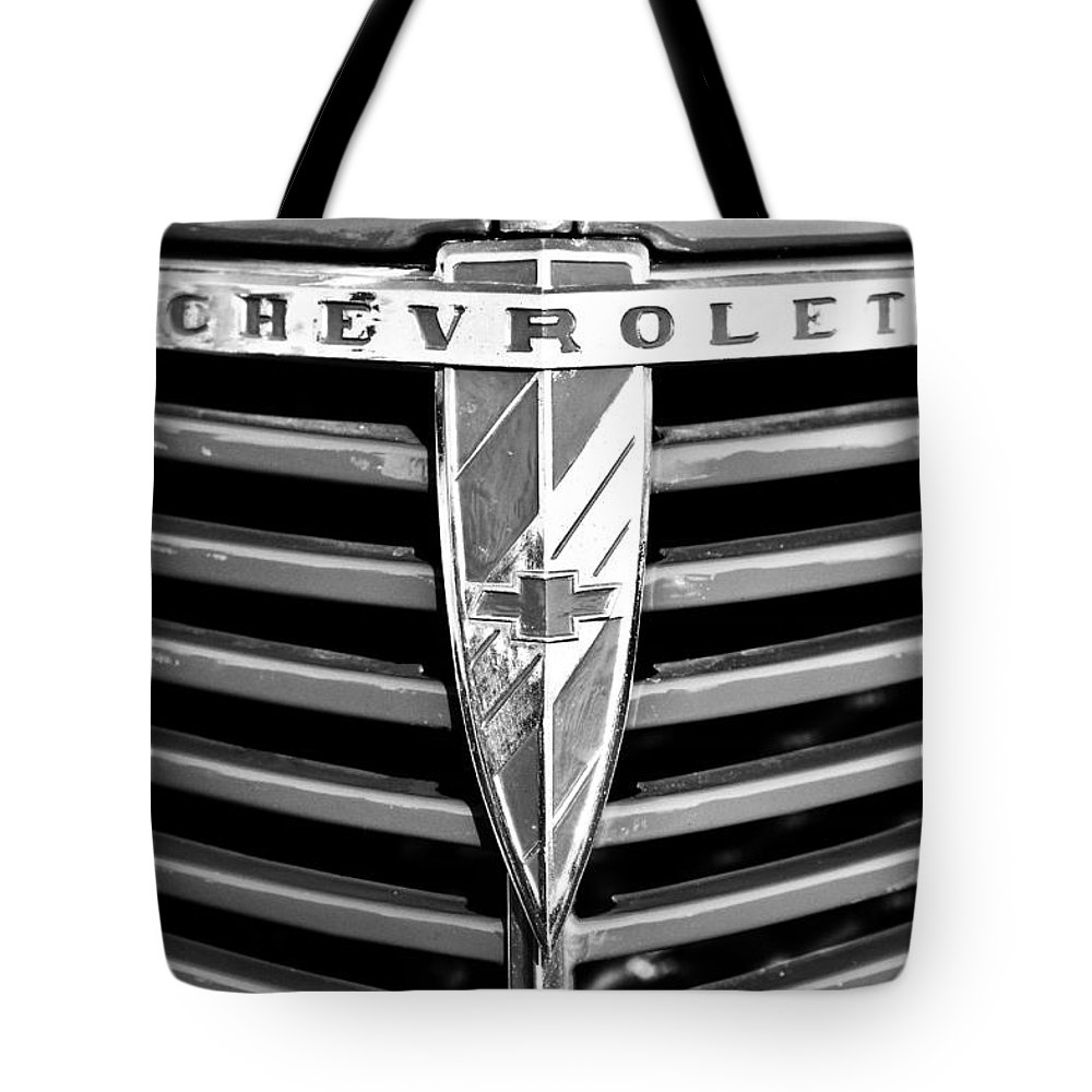 1938 Chevrolet Tote Bag featuring the photograph 1938 Chevrolet by Dennis Hedberg