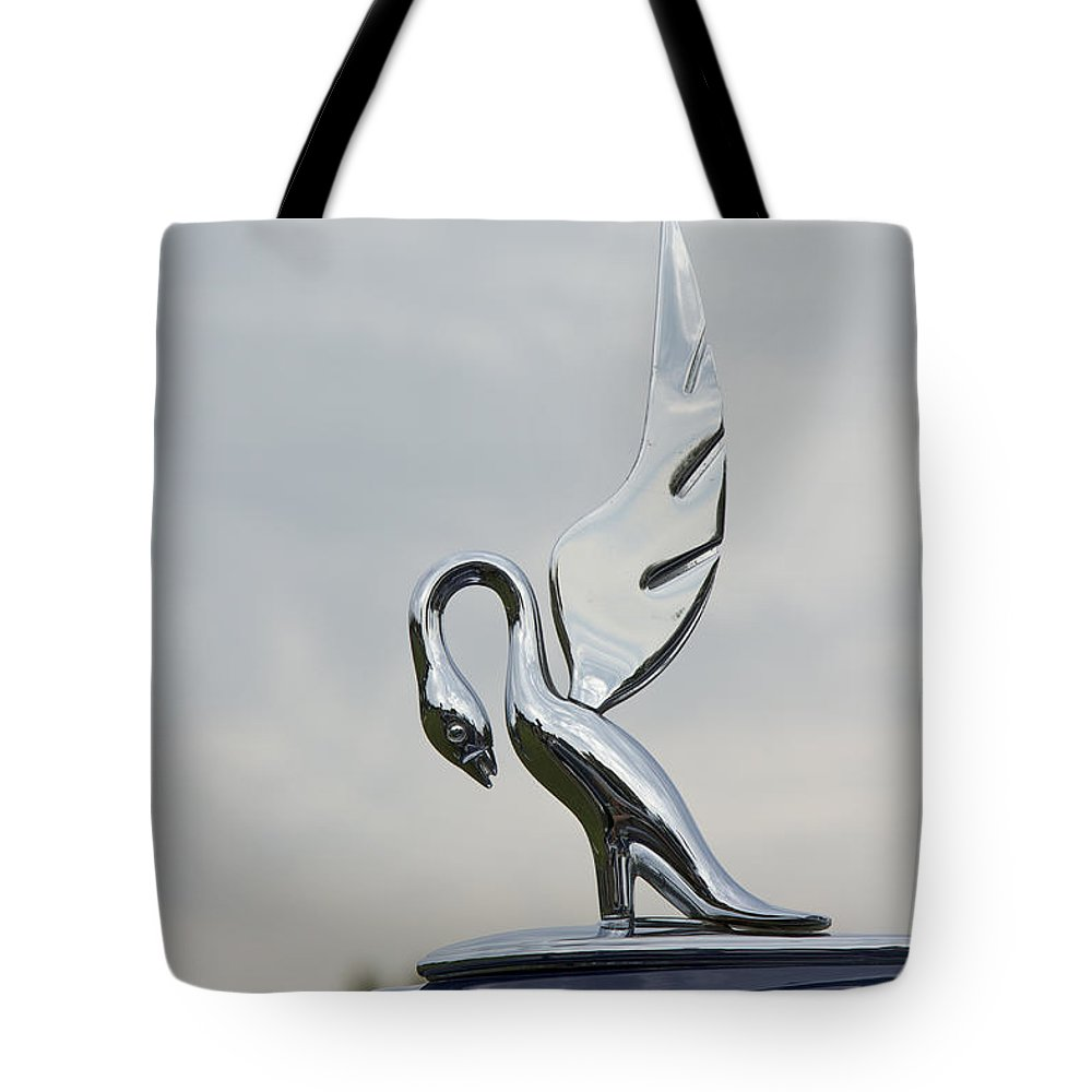 Glenmoor Tote Bag featuring the photograph 1938 Packard by Jack R Perry