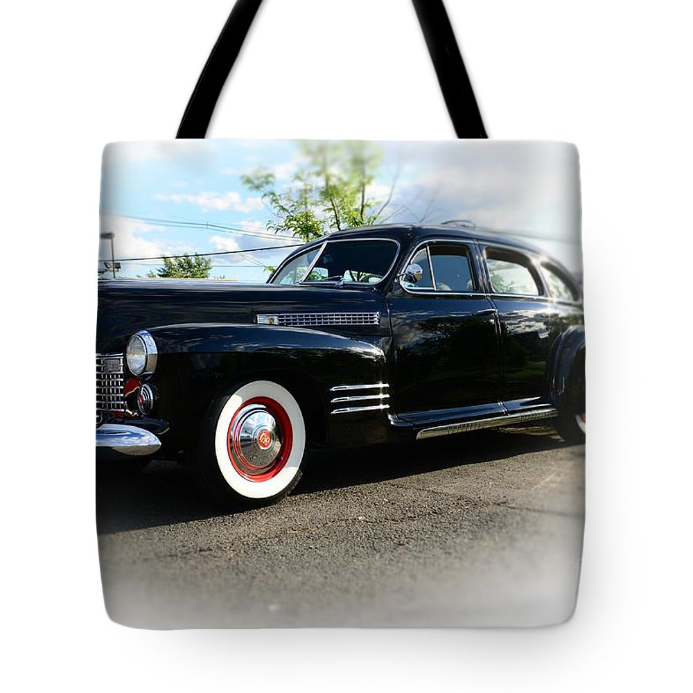 1941 Cadillac Coupe Tote Bag featuring the photograph 1941 Cadillac Coupe by Paul Ward