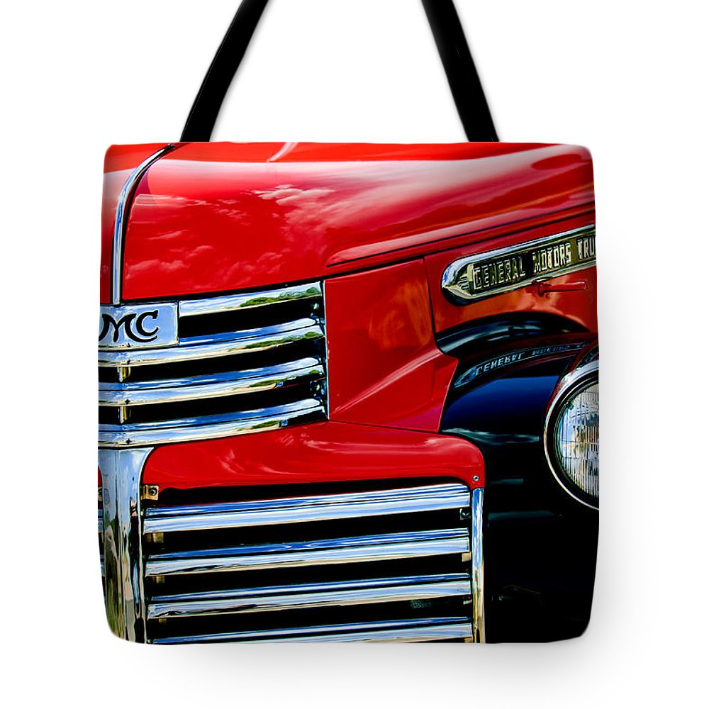 1942 Gmc Pickup Truck Tote Bag featuring the photograph 1942 Gmc Pickup Truck by Jill Reger