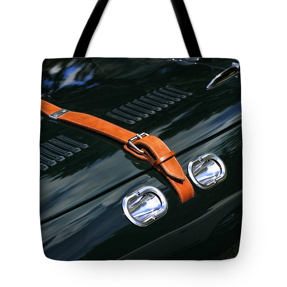 Allard Tote Bag featuring the photograph 1951 Allard J2 Competition Roadster by Gordon Dean II