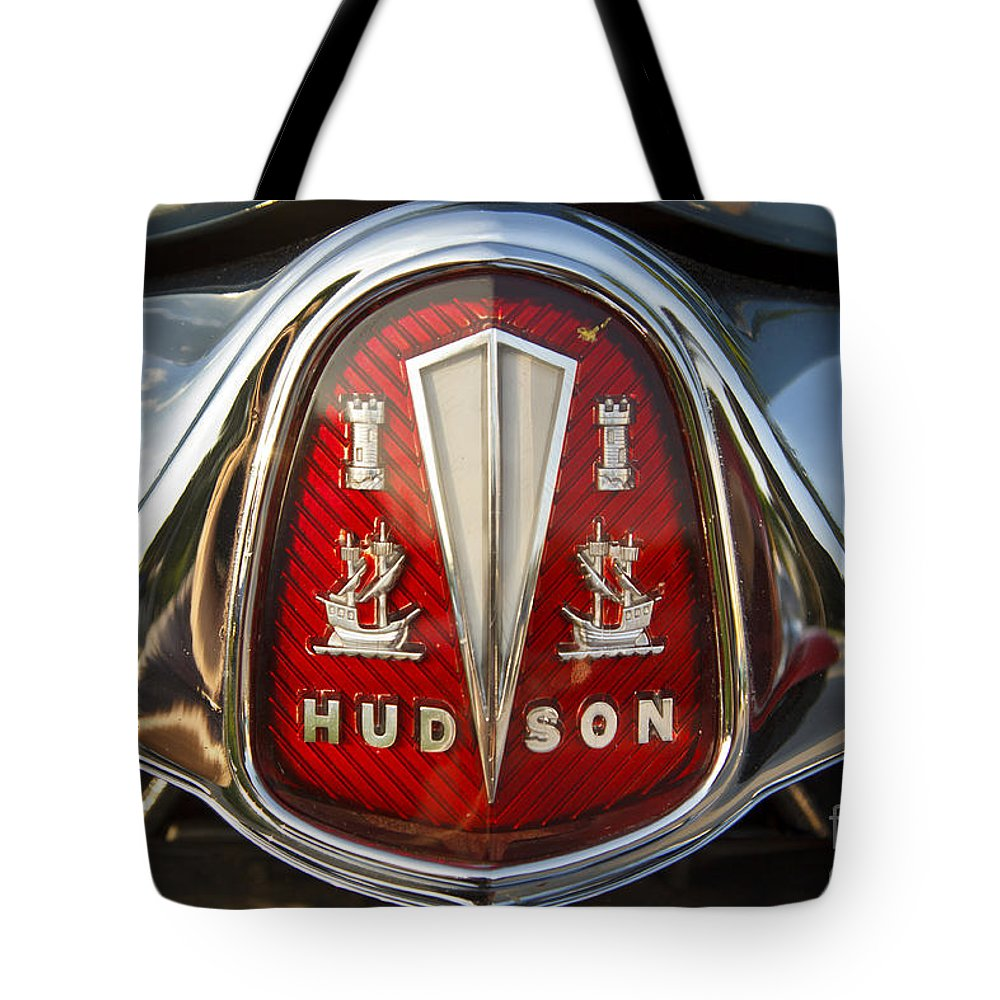 Hudson Tote Bag featuring the photograph 1953 Hudson Hornet by Dennis Hedberg