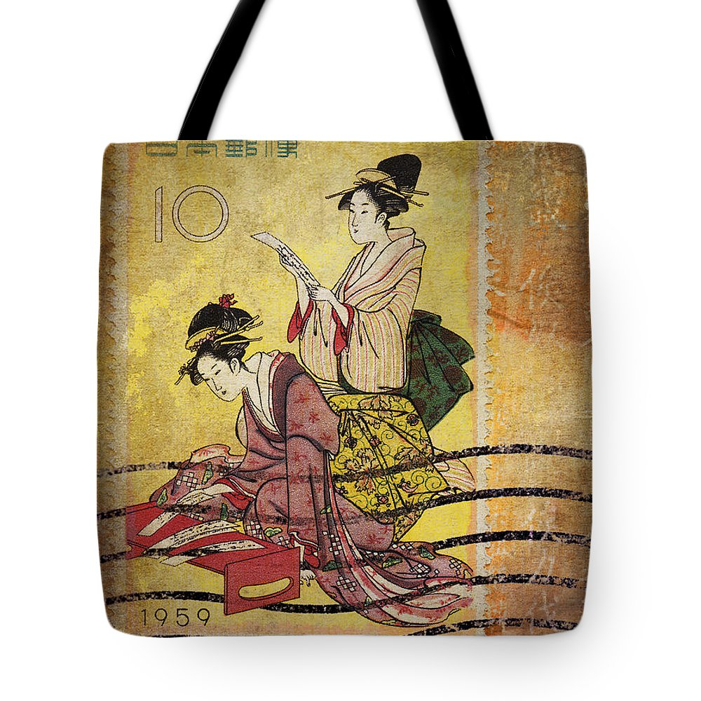 Correspondence Photographs Tote Bags