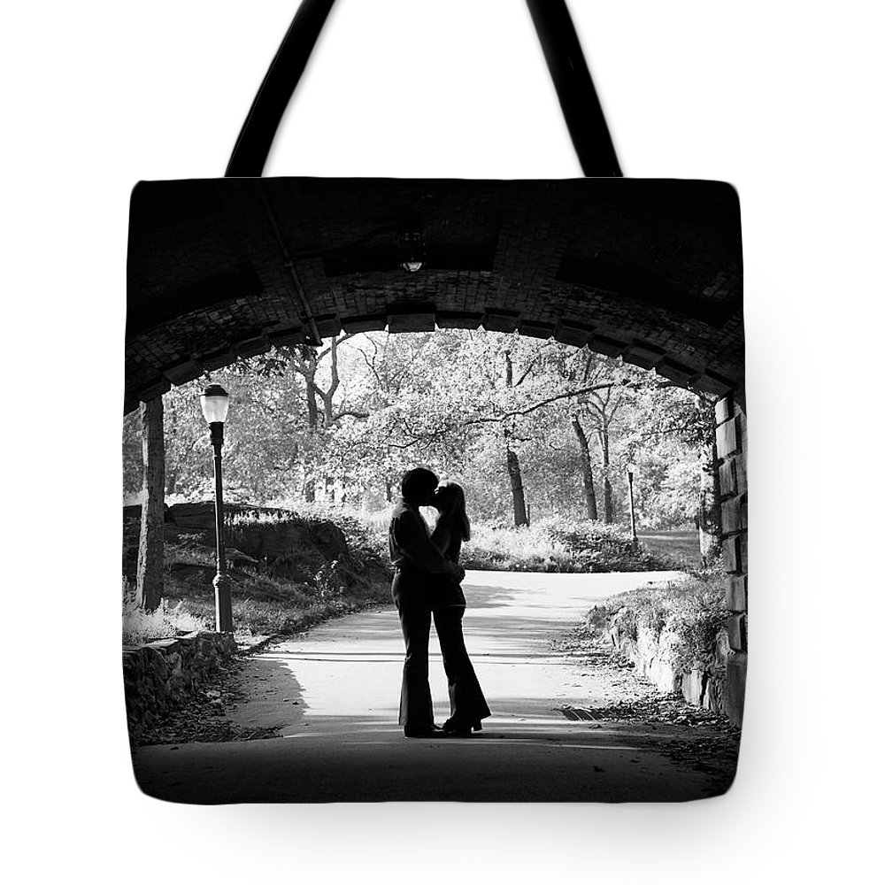Photography Tote Bag featuring the photograph 1960s Silhouette Of Anonymous Young by Vintage Images