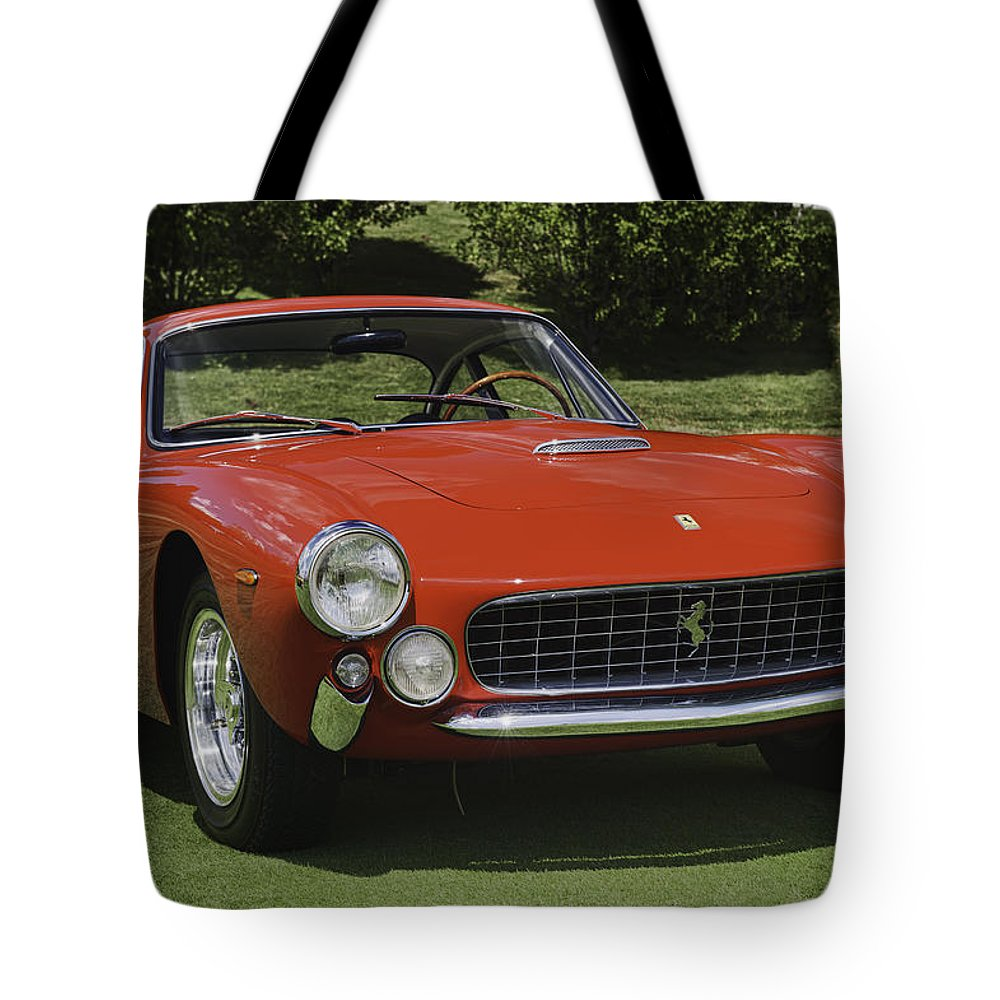 1963 Ferrari Tote Bag featuring the photograph 1963 Ferrari 250 Gt Lusso by Sebastian Musial