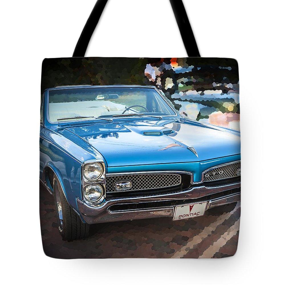 1967 Pontiac Gto Tote Bag featuring the photograph 1967 Pontiac Gto by Rich Franco